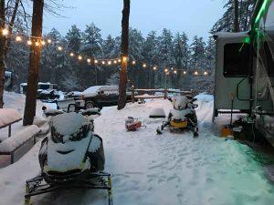 Camp at Danforth Bay
