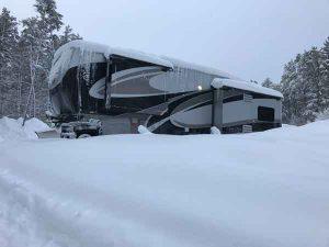 Snowy RV at DBRV