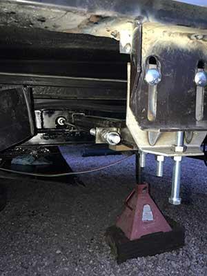 RV Slide Arm After Repair